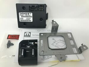 19-21 2021 Ram 1500 DT New Body Style Integrated Trailer Brake Controller Mopar