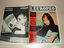 EUROPEO=1956/51=HELEN PORTELLO=MIRA=ANNA MARIA PIERANGELI=MARIA LUISA BULGARIA=