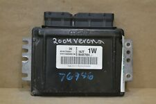 2005 Chevrolet Epica  Engine Computer Unit ECU 96487564 Module 62 5A2