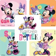 Minnie Mouse and Daisy Stickers x 5 - Minnie Mouse Birthday Party Favours - Loot