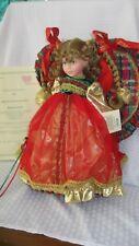 """Robin Woods Vinyl Doll 14"""" Mistletoe Playmate Today Treasure Tomorrow 1996 used"""