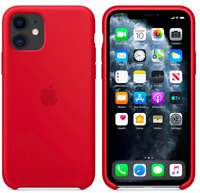 Rot Apple Echt Original Silikon Schutz Hülle Case iPhone 11 6,1″