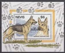 Nevis postfris 1995 MNH blok 89 - Honden / Dogs (hb040)