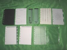 Desk Tab Page Amp Accessory Lot Day Timer Planner Classic Franklin Covey Refill