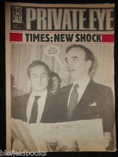 PRIVATE EYE - Vintage Satirical Political Humour Magazine - 26th February 1982