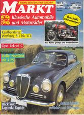 Markt-Klassische Automobile und Motorräder-03/1992-Lancia Aurelia-Opel Rekord C