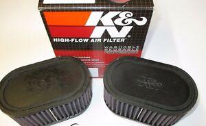Suzuki GSXR750 88 to 91   K & N Dual Air Filters. RU-2922 the genuine article!