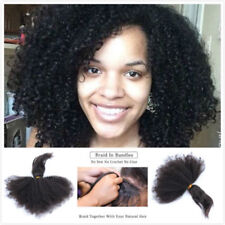 1 Pc 18'' Braid In Bundles Brazilian Afro Kinky Curly 100%  Human Hair Extension
