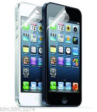 X2 Apple Premium Clear Front LCD Screen Protector Guard for iPhone 5 5S