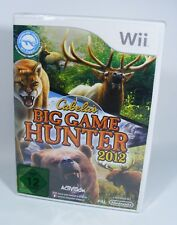 CABELA'S BIG GAME HUNTER 2012 für Nintendo Wii NEU EU-Version Spiel OVP cabelas