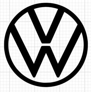 High Temp VW Car Vinyl Decal Stickers USED BY WHEEL GODS UK
