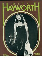 RINGGOLD GENE RITA HAYWORTH GREMESE 1982 CINEMA HOLLYWOOD