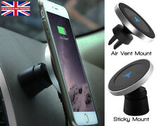 Qi Wireless Car Charger Magnetic Mount Air Vent Holder iPhone 8 X Samsung S8 S9