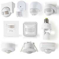 Outdoor Indoor PIR Motion Movement Sensor Detector Switch For Security Lighting