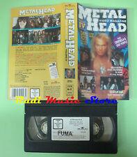 VHS METAL HEAD Video magazine IV DAVID LEE ROTH ANTHRAX OSBOURNE no cd(VM4)