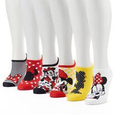 Women's 6-pk. Disney's Minnie Mouse No-Show Socks