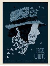 Methane Studios Mark McDevitt Jack White Toronto Air Canada Centre Poster 7/31