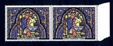 FRANCE - FRANCIA - 1966 - Vitrail de la Sainte-Chapelle Baptême de Judas MNH (H)