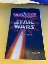 Star Wars Monopoly Game Pieces Replacement Tokens Episode One Collectors Edition