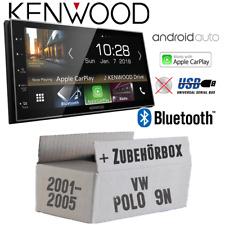 Kenwood Radio für VW Polo 9N Bluetooth Android Auto Apple CarPlay PKW Einbauset