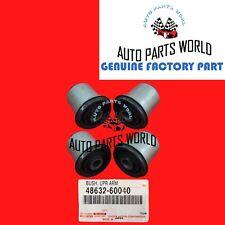 GENUINE TOYOTA 4RUNNER FJ LEXUS GX460 FRONT UPPER CONTROL ARM BUSH SET OF 4