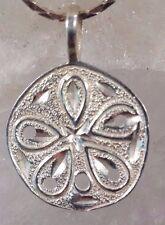 Beautiful Vintage Italian Sassari Sterling Silver Pendant Necklace