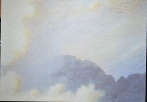 2 x A4 Cloudy Skies Patterned 120gsm Backing Paper NEW