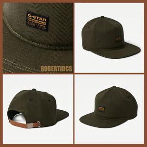 NWT Men's G-Star Raw Drego Cap | Sage Green | Adjustable Strapback | Hat