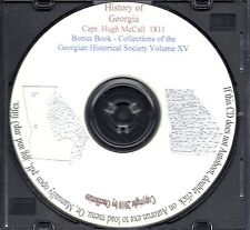 The History of Georgia - Vol 1 & 2 1811