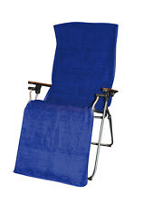 Towel Cover For Reflexology Chair Blue Suitable for Use with Lafuma recliners