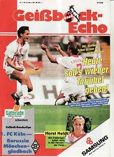BL 90/91 1. FC Köln - Borussia Mönchengladbach