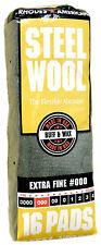 Rhodes American Steel Wool Grade 000 - Extra Fine