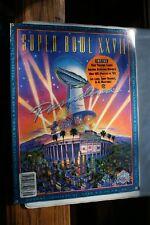 Old Vintage 1993 Super Bowl XXVII Program Cowboys Bills Proline Gameday Cards
