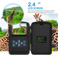 2pcs Trail Camera Wireless Security Cam Home 12MP 940nm IR Time Lapse Waterproof