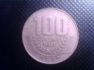 COSTA RICA      100   COLONES    1999   BIG  COIN      SEP25