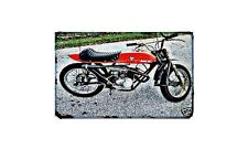 El Tigre Motorbike A4 photo Retro Bike
