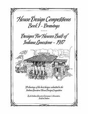 House Design Competitions, Book 1 Drawings - Houses Built of Indiana Limestone