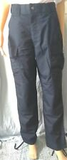Mens Boys 5.11 Tactical Ripstop Work Uniform Trousers Pants Navy Blue Small only