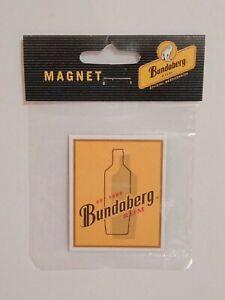 Bundaberg Bundy Rum brand new official merchandise bottle bar fridge magnet