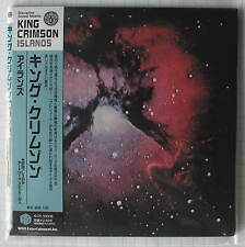 King Crimson-Islands Japon MINI LP CD IECP - 10006