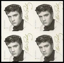 US 5009 Music Icons Elvis Presley forever block MNH 2015