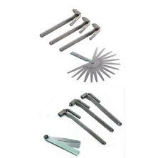 3x Motorcycle Adjustment Tool Valve Screw Wrench 8mm 9mm 10mm W/ Feeler Gauge