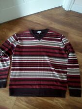 FAT FACE MENS STRIPE JUMPER SIZE XL SLIMMER FIT EXCELLENT CONDITION