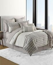 Sunham Finn 100% Cotton 14 Piece Queen Comforter Set Ivory $360