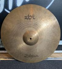 "More details for 20"" zildjian zbt ride cymbal #637"