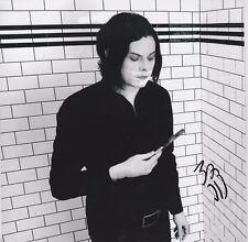"Jack White signed Love Interruption / Machine Gun Silhouette 7"" lp"
