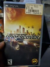 Sony PSP Need For Speed Undercover ~ Rated T ~ Game + Box + Instructions