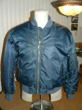 Law Pro by Quartermaster MA-1 Style Flight Jacket Size Large