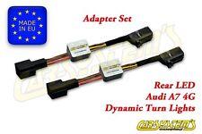 Audi A7 4G Sportback - Semi Dynamic LED Adapter Set - Rear Dynamic Turn P & P