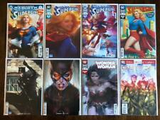 8x ARTGERM DC VARIANT / COVERS CATWOMAN 1 2 SUPERGIRL 15 16 17 WONDER WOMAN NM+